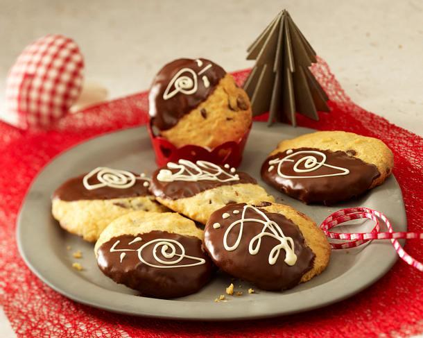 Weihnachts-Choco-Cookies Rezept