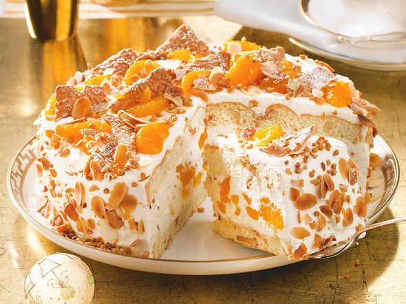 Weihnachts-Mandarinen-Torte Rezept