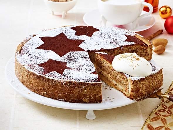 Zimtkuchen mit Mandeln Rezept