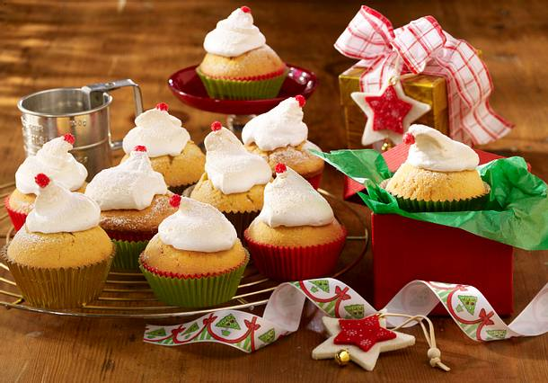 Weihnachtsmuffins zum Verschenken Rezept