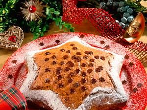 Weihnachtsstern-Kuchen Rezept