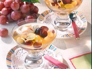 Weintrauben-Gelee mit Schmand Rezept