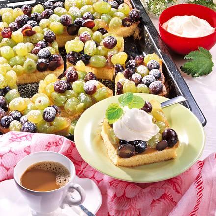 Weintraubenkuchen Rezept