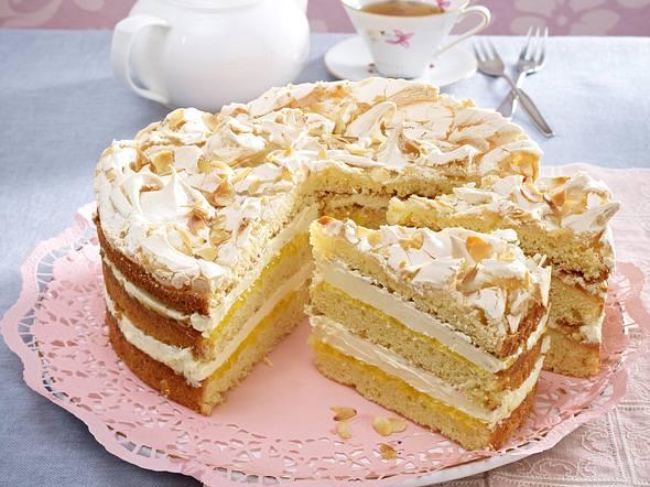 Weiße Schokoladen-Torte Rezept