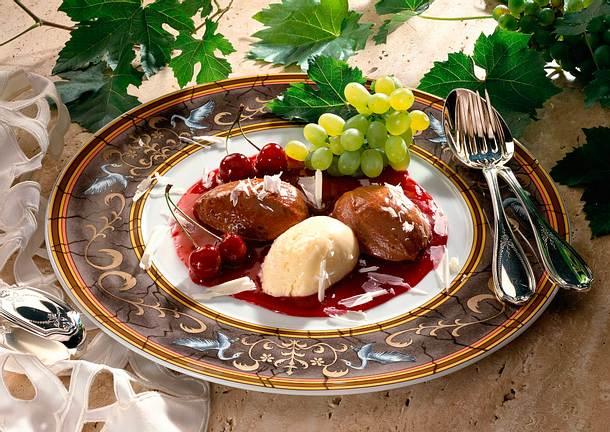 Weiße und braune Mousse au Chocolat Rezept