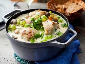 Weißer Coq au Vin für sorgenfreies Kochen Rezept
