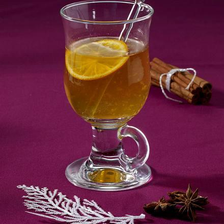 Weißer Orangen-Glühwein Rezept