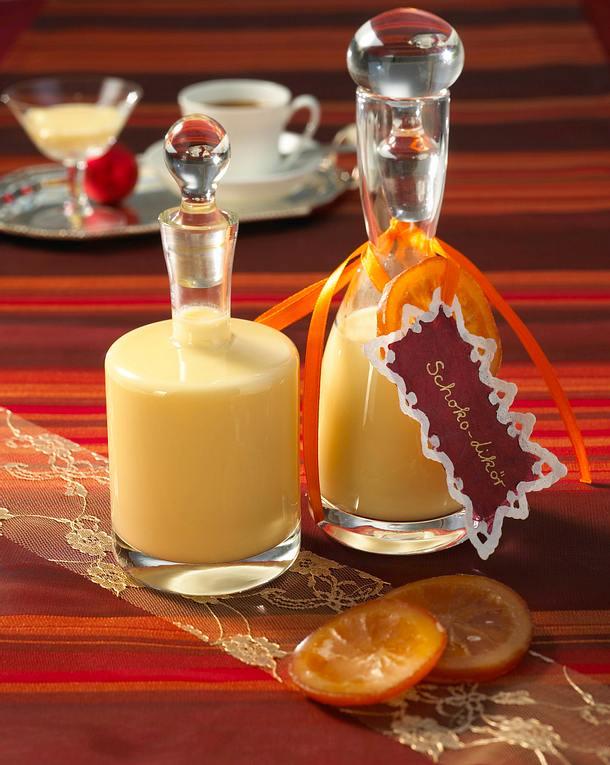wei er schokoladen orangen lik r rezept lecker. Black Bedroom Furniture Sets. Home Design Ideas