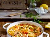 Weißkohl-Fisch-Eintopf Rezept