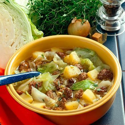 Weißkohl-Kartoffel-Eintopf Rezept