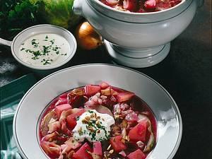 Weißkohl-Kartoffeleintopf mit Rote Bete Rezept