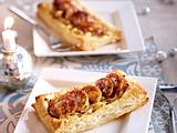 Weißwurst-Tartelettes Rezept