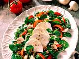 Weizen-Brunnenkresse Salat mit Ziegenkäse Rezept
