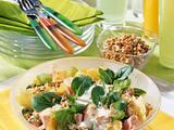 Weizenkeimlinge-Salat mit Joghurt-Soße (Diabetiker) Rezept