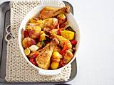 Westernpfanne mit Speck-Kartoffeln Rezept