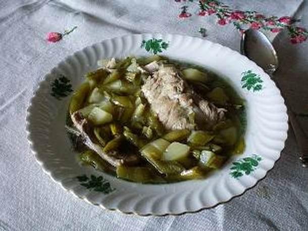 Westfälische Stangenbohnensuppe Rezept