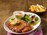 Wiener Schnitzel mit Herbstsalat Rezept