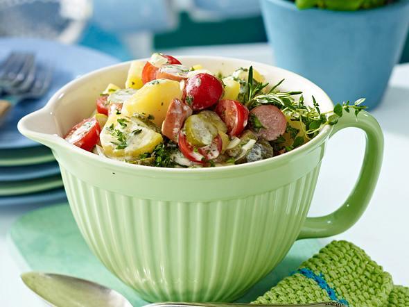 Wiener-Würstchen-Kartoffelsalat Rezept