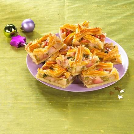 Winterapfel-Blechkuchen Rezept