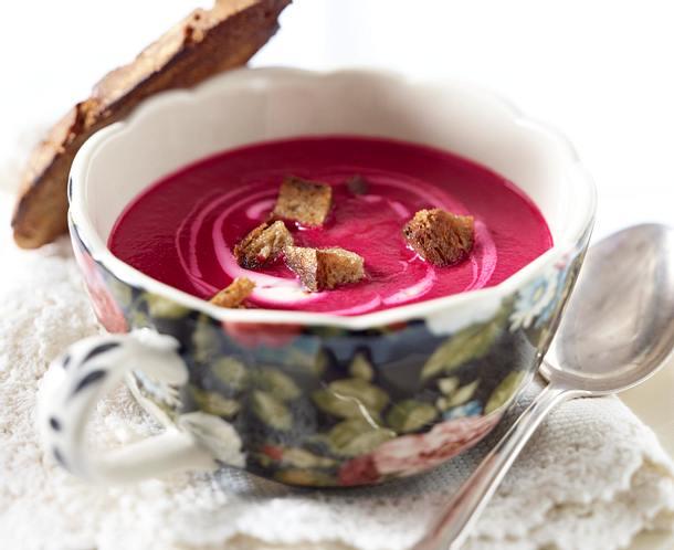 Winterliche Rote Bete-Suppe Rezept