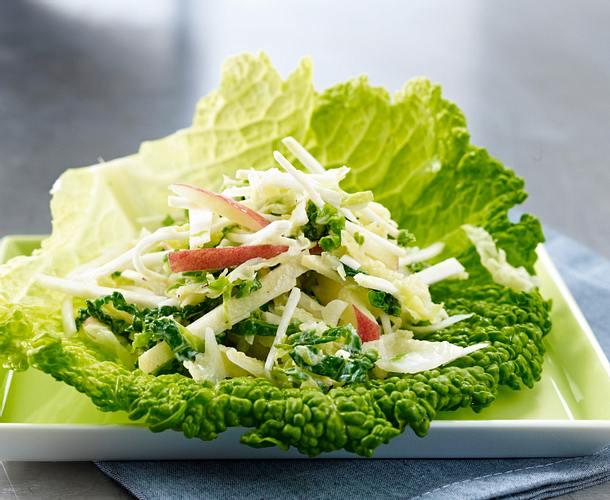 Wirsing-Apfel-Salat Rezept