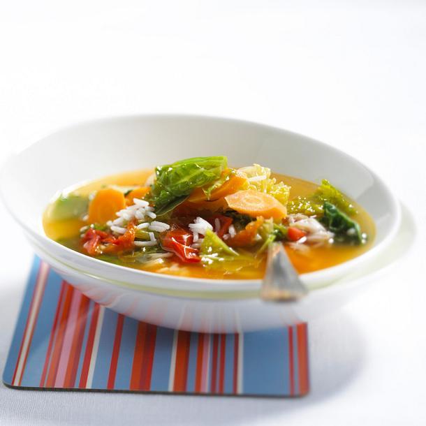 Wirsing-Gemüse-Suppe Rezept