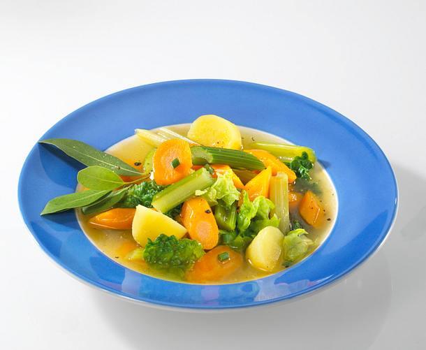 Wirsing-Gemüsesuppe Rezept