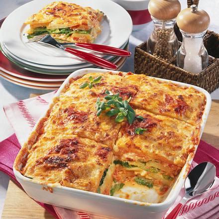 Wirsing-Kartoffel-Lasagne Rezept
