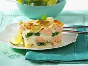 Wirsing-Lachs-Lasagne Rezept