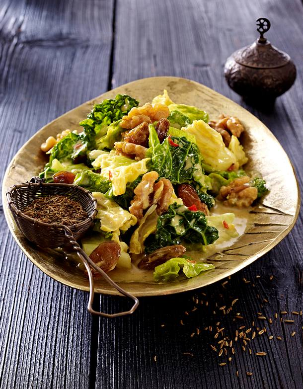 Wirsing-Rosinen-Curry (Ayurveda) Rezept | LECKER