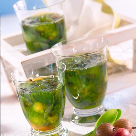 Wodka-Stachelbeer-Konfitüre Rezept