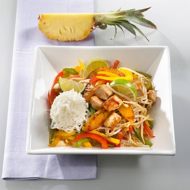 Wokgemüse mit Pute Rezept