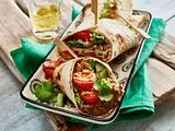 Wraps mit Bohnen-Hummus Rezept