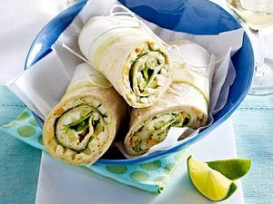 Wraps mit Ei und Salat Rezept