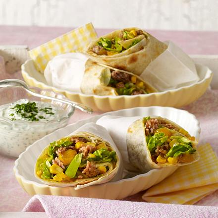 Wraps mit Mangocurry Rezept