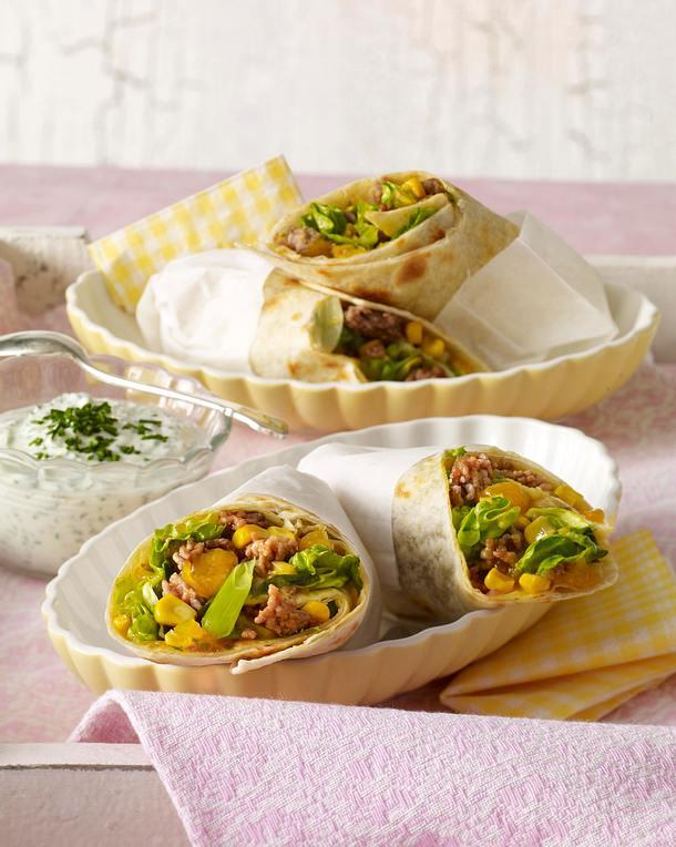 Wraps mit Mangocurry Rezept | LECKER
