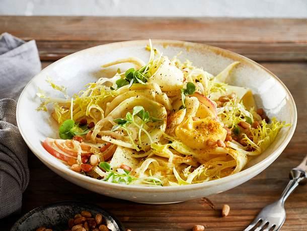 Wünsch-dir-was-Salat mit Curry-Mayo Rezept