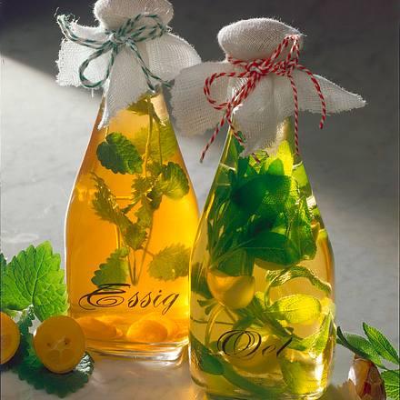 Würzessig und Öl Rezept