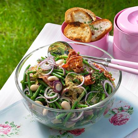 Würziger Bohnensalat Rezept