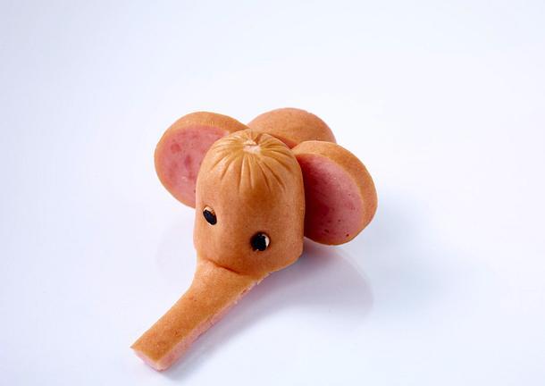 Wurst-Elefant Rezept