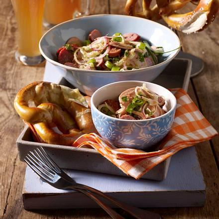 Wurst-Zwiebel-Salat Rezept