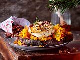 XXL-Ziegenkäsebrot mit Mandeln aus der Weihnachtswundertüte Rezept
