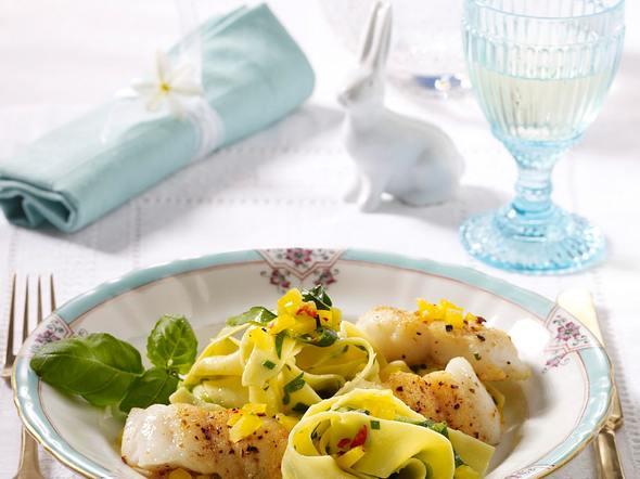 Zanderfilet und Zucchini-Nudeln Rezept