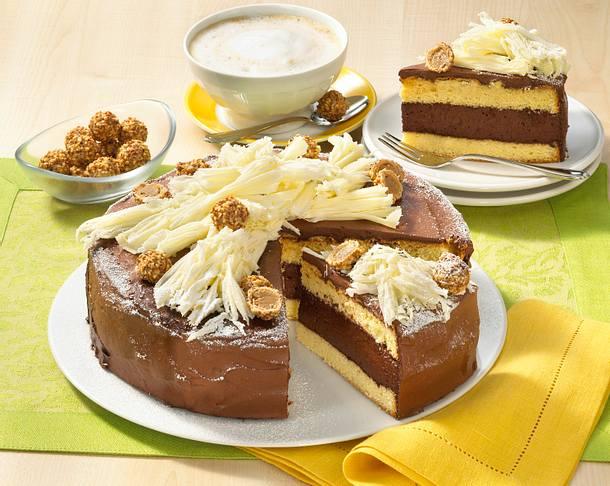 Zarte Schokoladen-Giotto-Torte Rezept