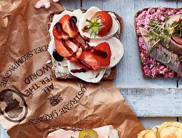 Ziegenkäse-Erdbeere Rezept