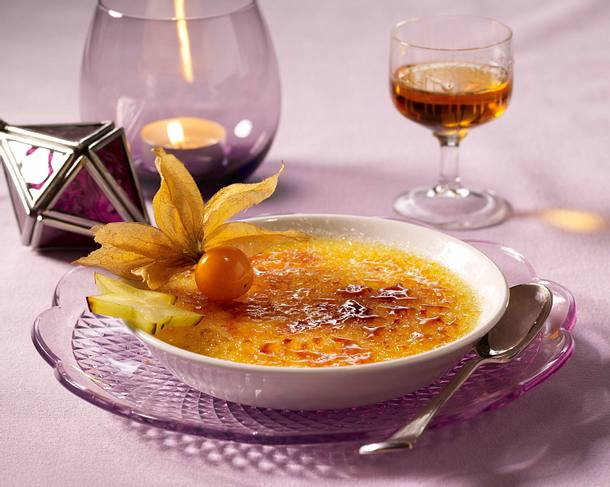 Zimt-Crème Brûlée Rezept