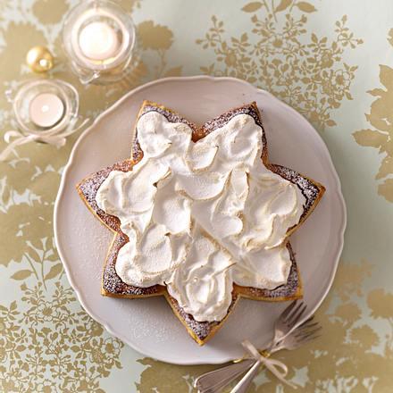 Zimtstern-Mandarinen-Torte Rezept