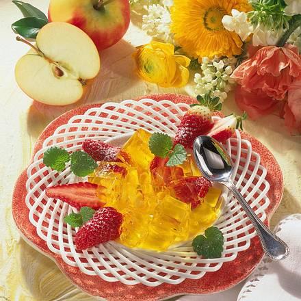 Zitronen-Apfel-Gelee  Rezept