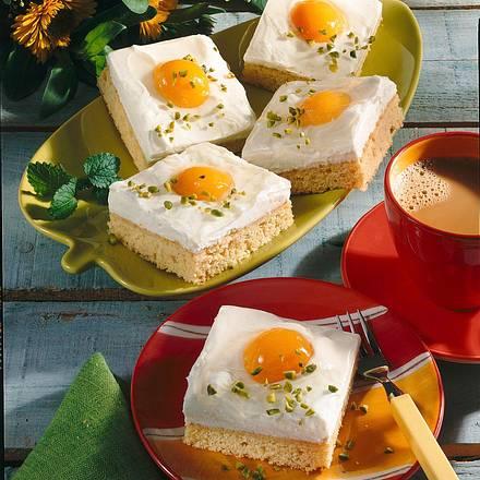 Zitronen-Aprikosen-Schnitten Rezept