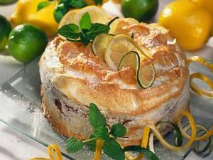 Zitronen-Eischnee-Torte Rezept